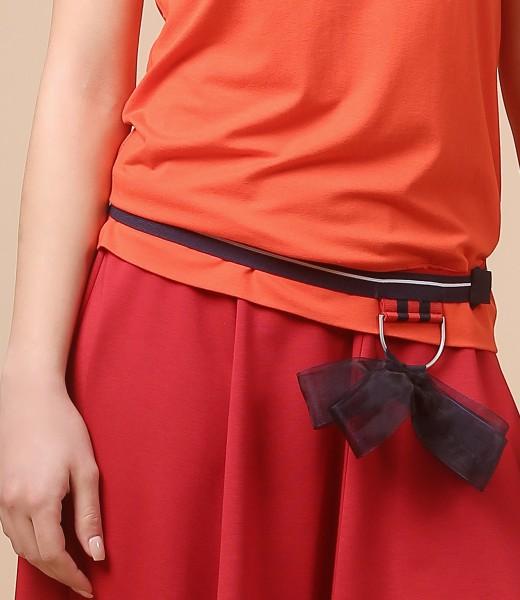 Cordon din elastic cu funda