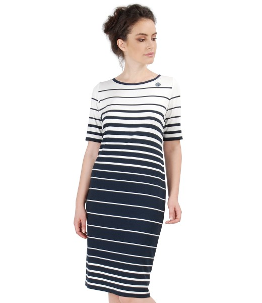 ROCHIE NAVY DIN JERSE CU DUNGI INEGALE