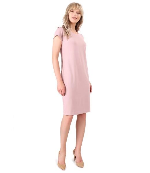 Rochie din viscoza cu buzunare laterale