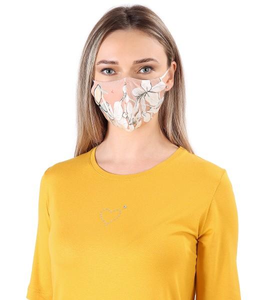 Masca refolosibila din viscoza imprimata