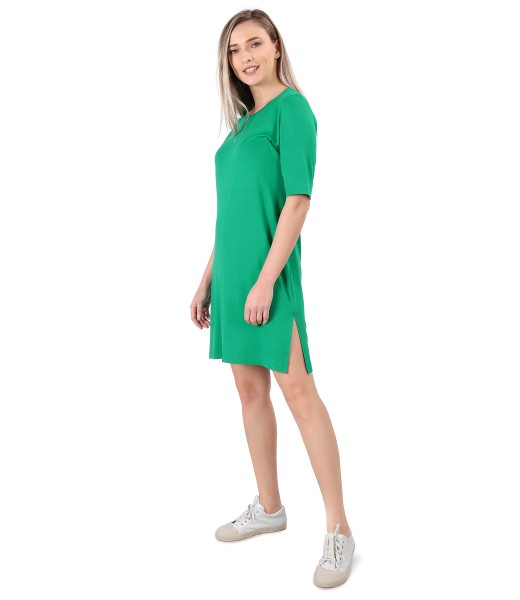 Rochie lejera din jerse elastic fin
