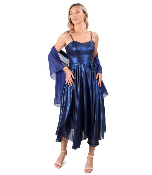 Sal din voal uni cu rochie de ocazie